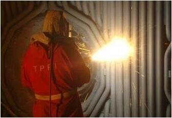 我公司针对于锅炉喷涂采用超音速电弧喷涂工艺