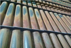 成远集团公司自主研发的防磨梳形导流板