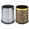 圆形双层垃圾桶价格|佛山丰禾|客房垃圾桶供应商