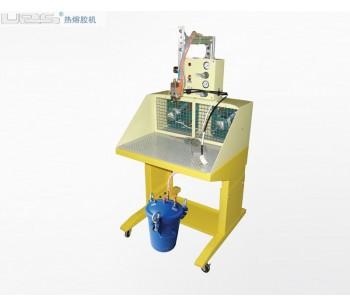 水性胶喷雾上胶机 河源包装台式点胶热熔胶机 热熔胶上胶粘合机