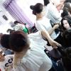 【阜阳汝老师职业培训学校】一对一教化妆美甲纹绣美容数超专业学校 大家都认为专业学校!