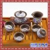 中式精美别致茶具套装 生产礼品手绘茶具  高档陶瓷茶具