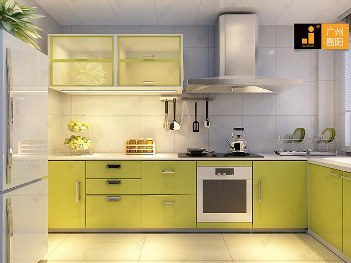 led灯让您的厨房看起来更有品味