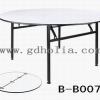 餐桌,折叠酒店桌,宴会圆桌,防水面桌子,广东酒店家具厂家