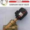 进口黄铜气动角座阀,德国巴赫-上海代理