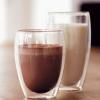 出口丹麦波顿纯手工吹制双层玻璃杯隔热杯水杯450ml