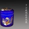 2017年新款陶瓷骨灰盒批发,景德镇陶瓷器骨灰盒生产厂家