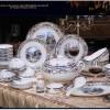 景德镇高档工厂餐具套装批发价格,正生陶瓷餐具厂家直销