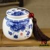陶瓷膏方罐厂家,郑州膏方罐价格,中医院膏方罐定做