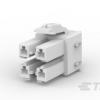 AMP连接器 - 矩形电源连接器179861-1