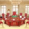 秉德家具厂家直销电动餐桌欧式经典豪华版2.5米
