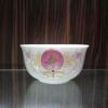 厂家销售百寿字韩式碗 红寿碗  丧事礼品寿碗定做价格