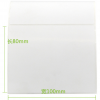 铜版纸 100mm*80mmx500张 物流标签贴纸三卷包邮