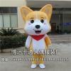 来图定制卡通人偶服装动物模型狗表演道具行走人偶