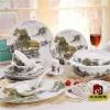 南京陶瓷礼品餐具套装批发,无锡餐具价格,定做餐具厂家