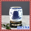 陶瓷高档骨瓷茶杯个性logo会议礼品茶杯手绘青花茶杯
