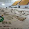 体育运动木地板的可循环性篮球羽毛球排球壁球乒乓球实木运动地板