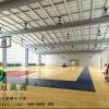 深圳冠奥通运动木地板在全国施工体育木地板实木运动地板生产厂家