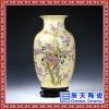 景德镇陶瓷仿古花瓶 高档官窑碎瓷裂纹釉 开片装饰摆设件