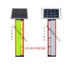 公路太阳能边缘轮廓警示灯 GPS同步防雾警示柱价格
