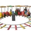商场轨道观光小火车电动儿童游乐园场设备室内广场户外景区电瓶车