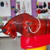 广场游乐户外游乐场欢乐斗牛机儿童娱乐设备成人大型电动斗牛机器