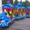 商场无轨观光小火车电动儿童游乐场室内广场户外景区电瓶车