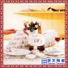 陶瓷餐具 青花瓷餐具套装logo 节日促销礼品