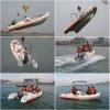 小型玻璃钢钓鱼船艇 快艇橡皮艇