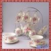 欧式奢华咖啡杯碟套装 下午茶闺蜜聚会创意陶瓷咖啡具