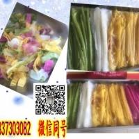 安徽哪家小吃培训中心教五彩果蔬凉皮技术
