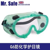 生产销售英国安全先生G6防喷溅眼镜