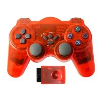 NYGACN东莞透明无线PS2游戏主机震动游戏手柄