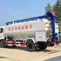 散装饲料运输车养殖场饲料运输车