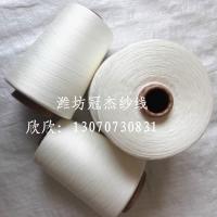 赛络纺人棉/粘胶纱16支20支30支40支现货出厂