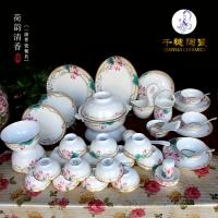 釉下彩青花瓷碗  青花瓷碗可定制