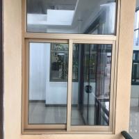 生产厂家供应:工程用铝合金推拉门窗型材及成品制作