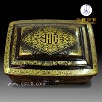 宫殿型骨灰盒   陶瓷宫殿型骨灰盒的寓意