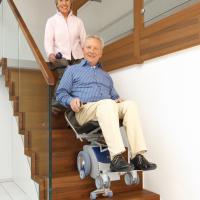 德国整机进口座椅型电动爬楼机楼梯轮椅车S-max S
