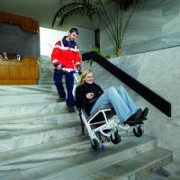 德国整机进口配轮椅电动爬楼机楼梯轮椅车S-max R