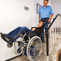 德国整机进口夹轮椅电动爬楼机楼梯轮椅车SDM7