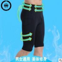 出口日本跑步健身裤外贸原单跑步裤厂家直销定制五分裤男
