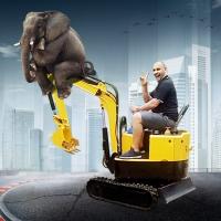 小型挖掘机全新全新农用小型挖掘机 小型履带挖掘机
