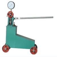 手提式试压泵安装及使用方法