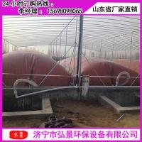 武汉养猪场沼气工程沼气池施工费用及土建尺寸大小介绍