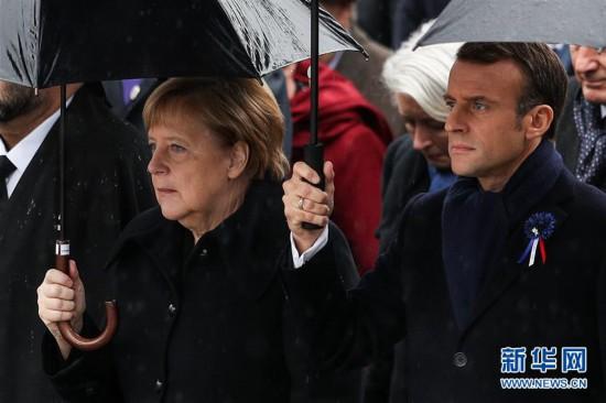 法国纪念一战结束百年