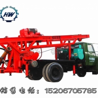 高效率HF-150反循环钻机 大口径打井机 车载水井钻机