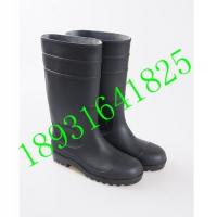 雨鞋 劳保安全防护钢头钢底防砸防穿刺高筒雨靴 长筒橡胶雨鞋