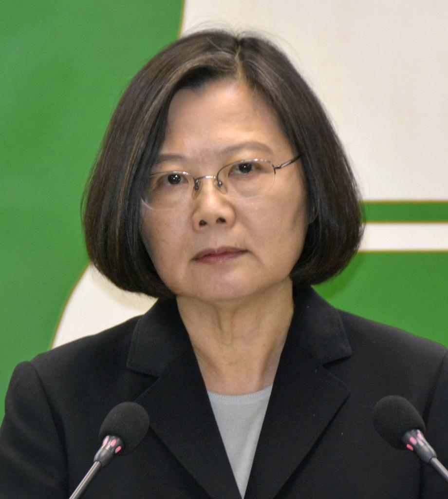 蔡英文称想与日本直接对话:共享大陆军方动向信息