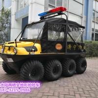 瓦尔特8X8防汛水陆两用全地形车,获先进实用技术装备奖